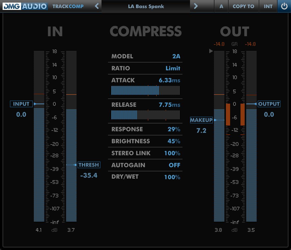 DMG Audio : Products : TrackComp